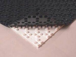 Подложка для теплого пола c фиксаторами для крепления труб 1