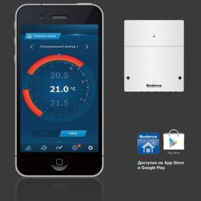Интернет модуль Logamatic KM200 и приложение