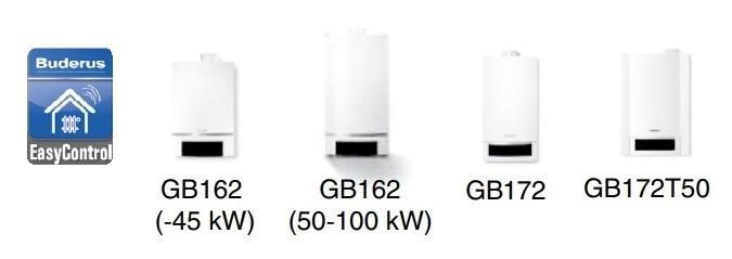 Котлы поддерживающие автоматику EMS plus и интернет модуль Logamatic KM200