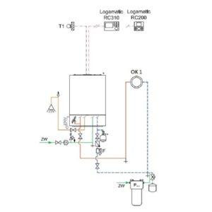 Проект системы отопления и водопровода 1